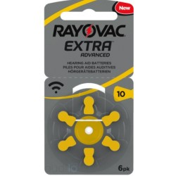 Piles auditives Rayovac 10